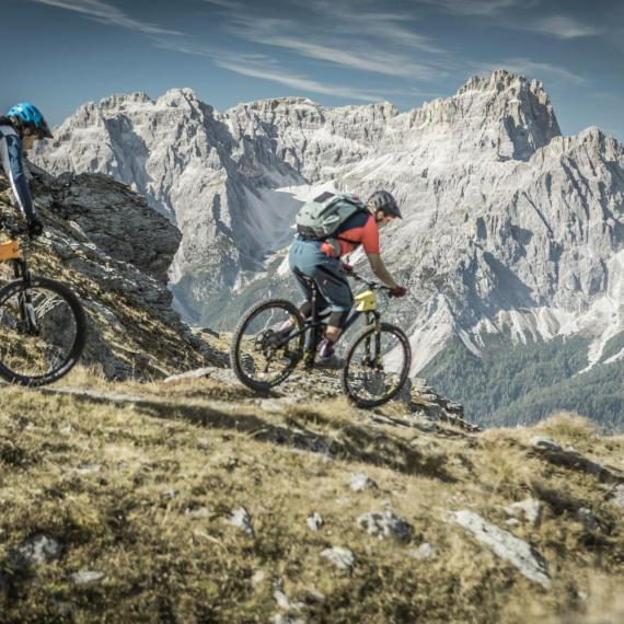 "Tour in mountain-bike ""Cornetto di Confine"""